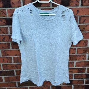 💜 3/25$ | Signature8 Grey Ripped T-Shirt